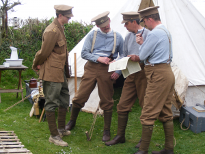 WW1 Living History Group Royal Cornwall 2