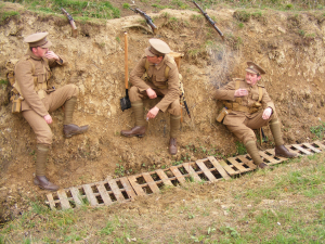 WW1 Living History Group Royal Cornwall