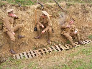 WW1 Living History Group Royal Cornwall